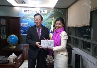 6th UCLG Congress Preparation: Visit to Jeollabuk-do, Rep. of Korea, December 2015