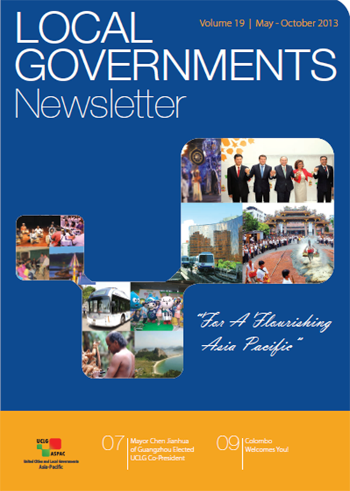 Newsletter Vol. 19 May - October 2013