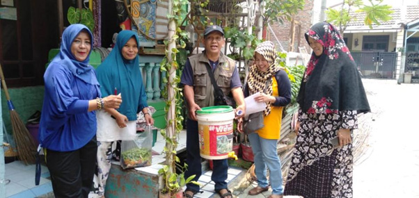 Tangerang Strengthens Community-Based Climate Actions  through 'Kampung Proklim' Programme