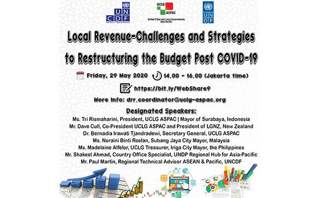 "WebShare #9 :  ""Local Revenue-Challenges and Strategies to Restructuring the Budget Post-COVID19"""