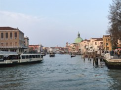The beautiful scenery in the middle of Venice