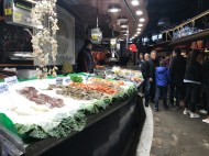 Seafood is freshest at the market!