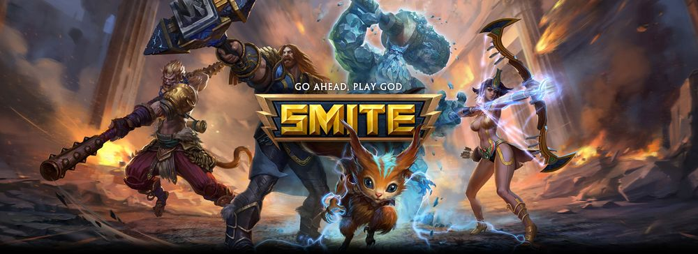 Smite Battleground Of The Gods Video Games Andas Art