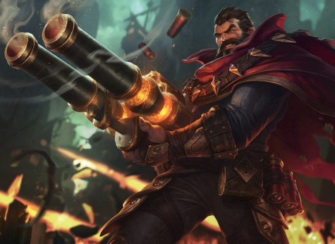 Riot Games official version of Graves