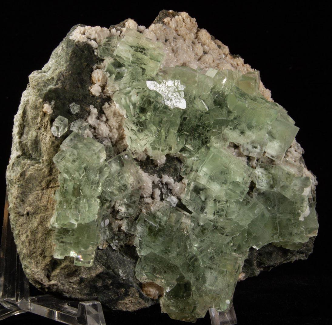 Fluorite and Dolomite