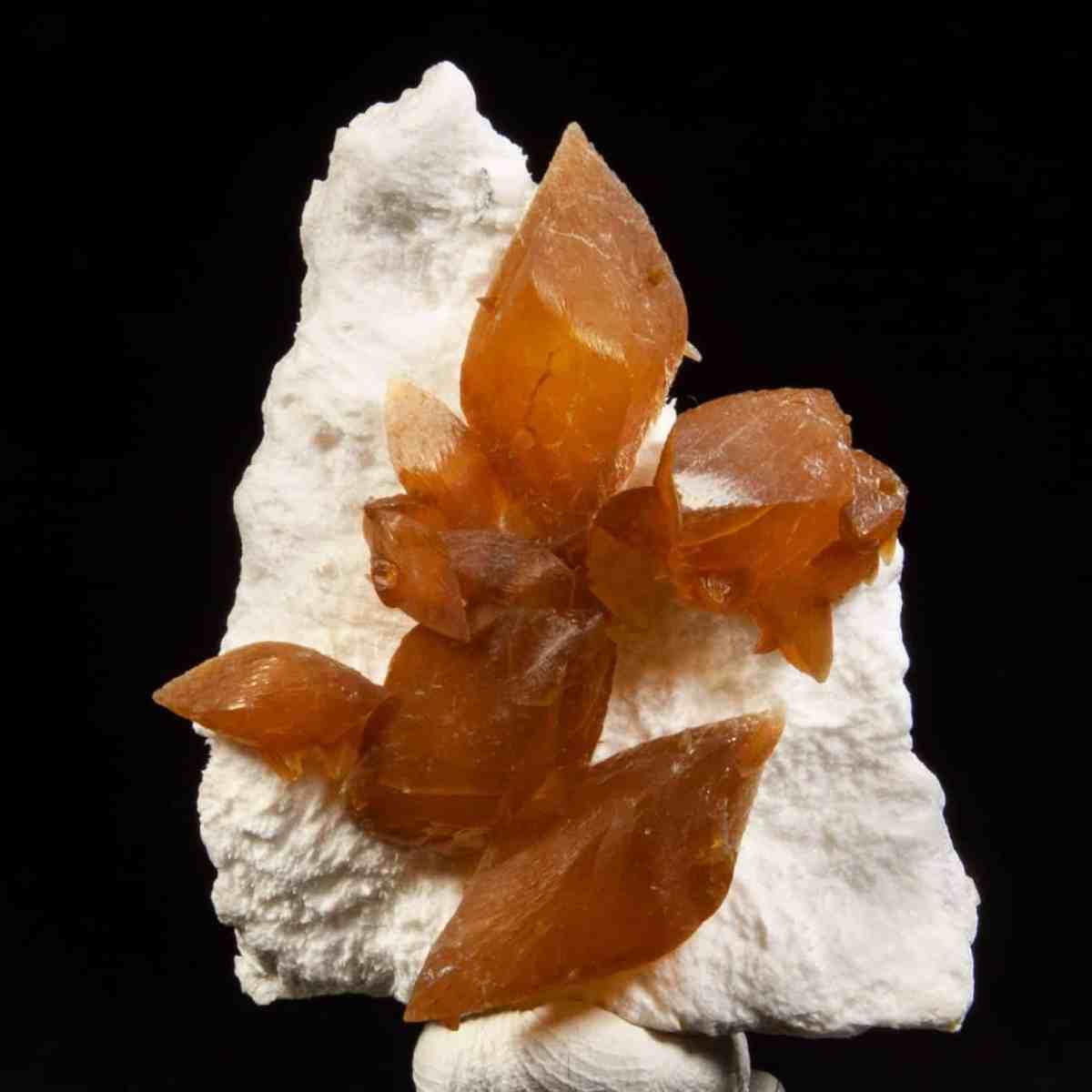 Calcite on Mordenite