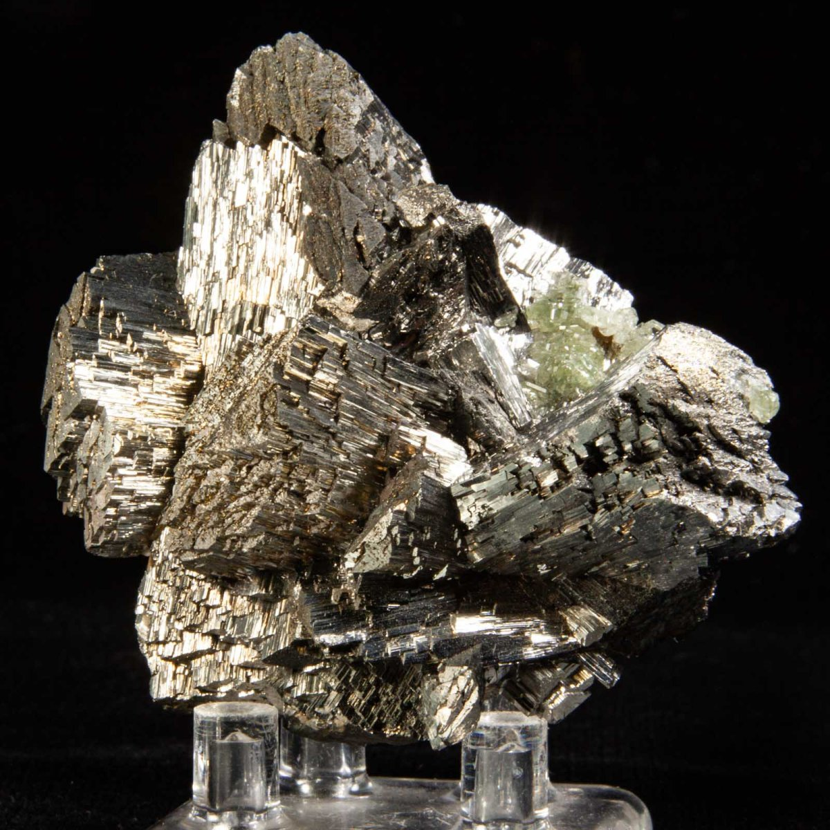 Arsenopyrite and Siderite with Apatite