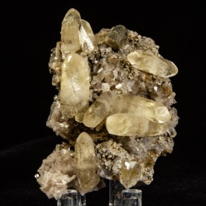 Calcite with Pyrite and Dolomite