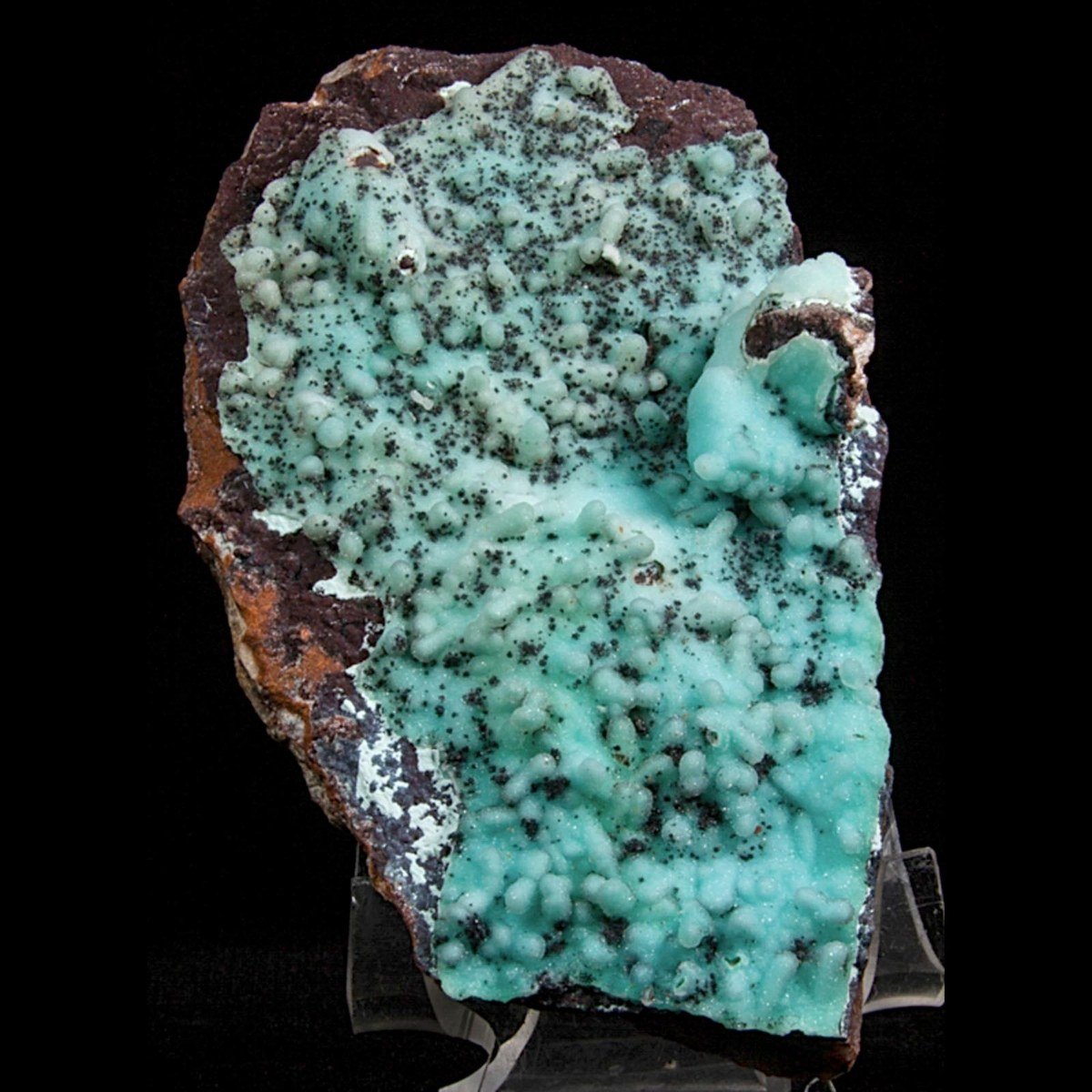 Chrysocolla and Quartz