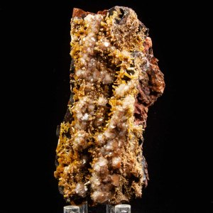 Mimetite and Calcite