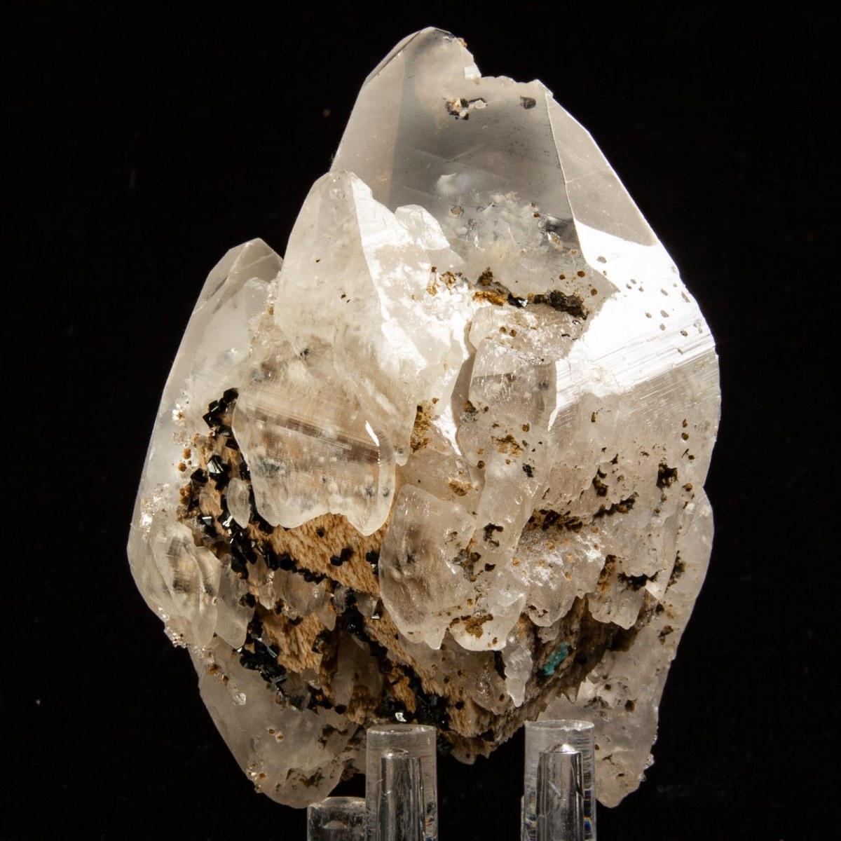 Calcite with Sphalerite and Apophyllite