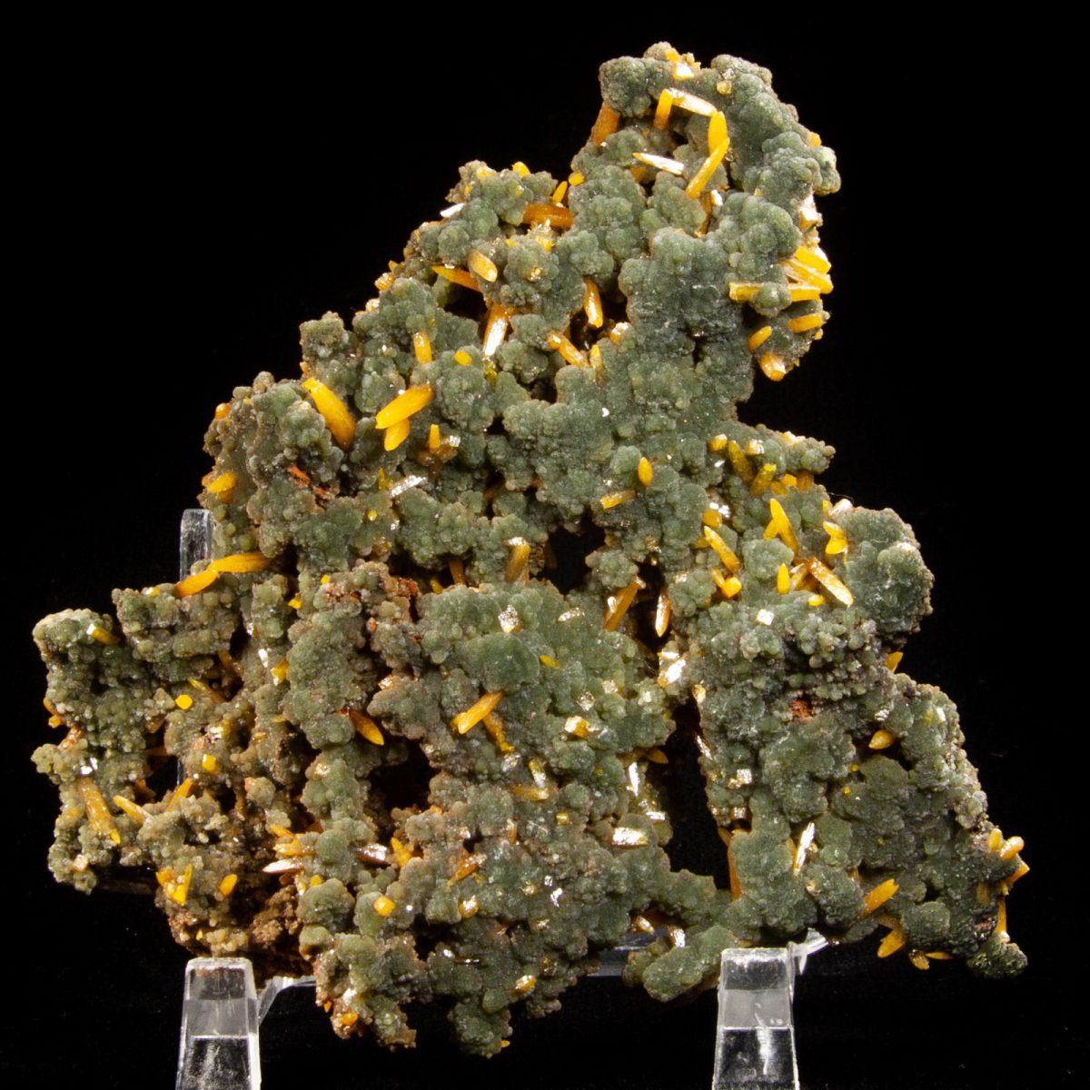 Mimetite and Wulfenite