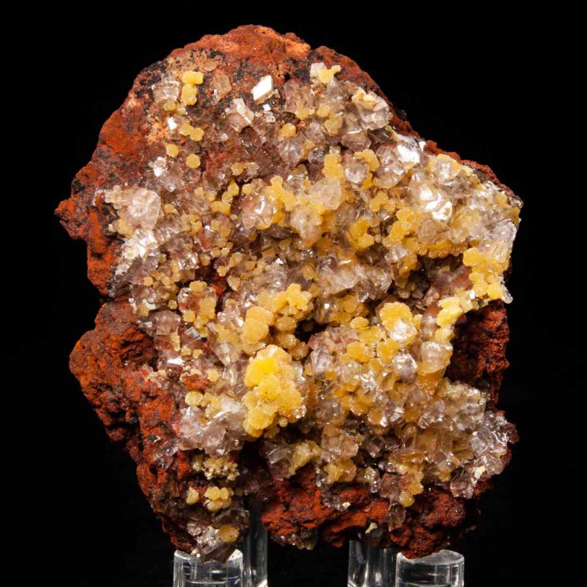 Mimetite and Calcite