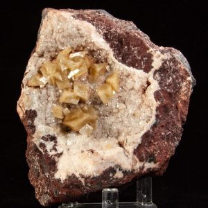 Dolomite on Calcite