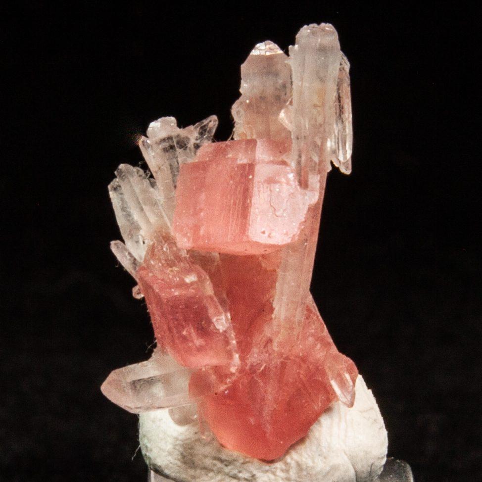 Rhodochrosite and Quartz