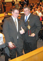 2008 Regional captains Zack and Adam