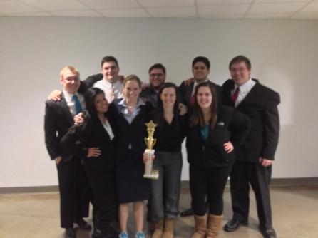 2014 AMTA Regional 7-1 finish, T-1st
