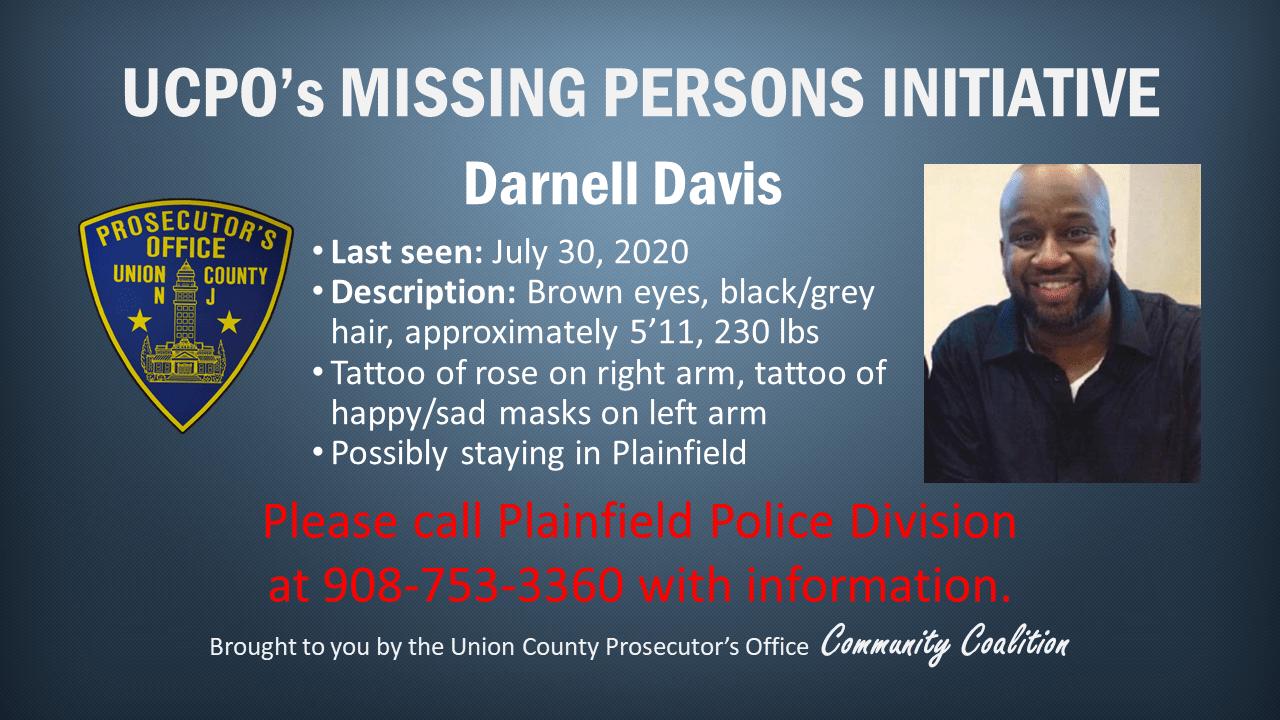 Missing persons_ Darnell Davis