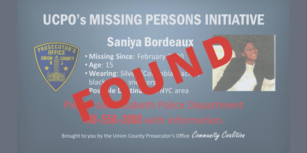 Saniya Bordeaux found