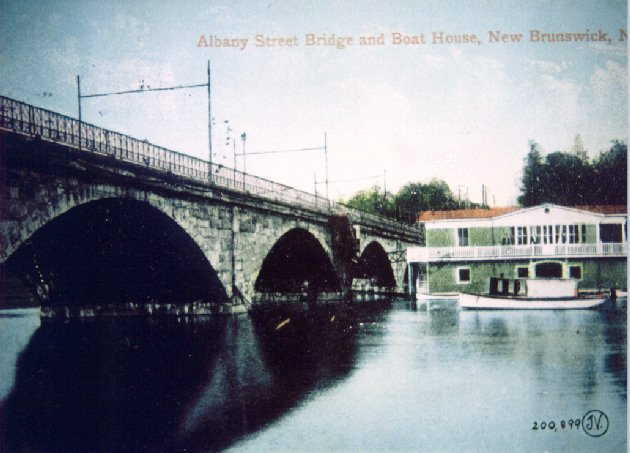 Albany Street Bridge in New Brunswick