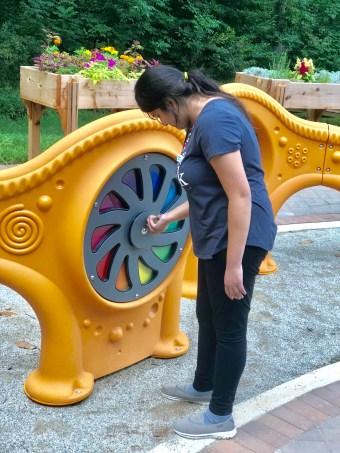 sensory trail gazebo play