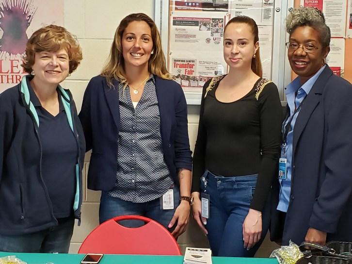 Office of witness Advocacy: Marcela Triacanico, Ana Mstia Melara and Kimberly Best-Paris