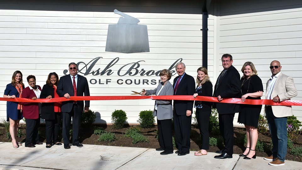 Union County Freeholders cut ribbon on new Ash Brook Golf