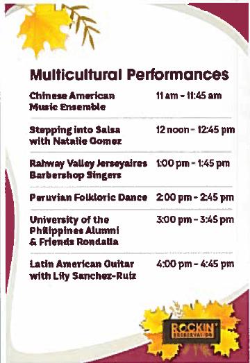 Multicultural Performances