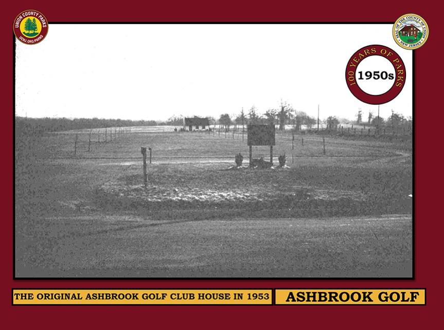 H SIGN ASHBROOK CLUB HOUSE 1950 l