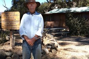 Lyndal Laughrin, longtime director of the Santa Cruz Island Reserve. Image credit: Sonia Fernandez