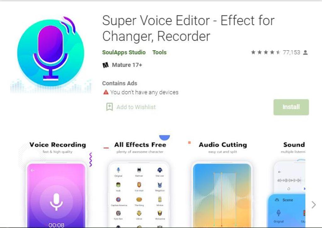SuperVoice Editor