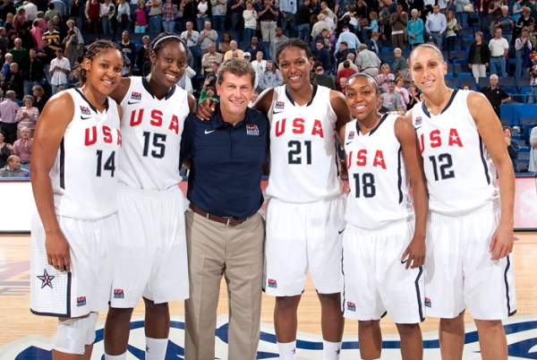 Auriemma, Former Huskies Lead USA Women's Basketball Team ...