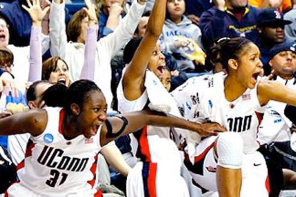 A President and a Coach Talk Women's Sports - UConn Today