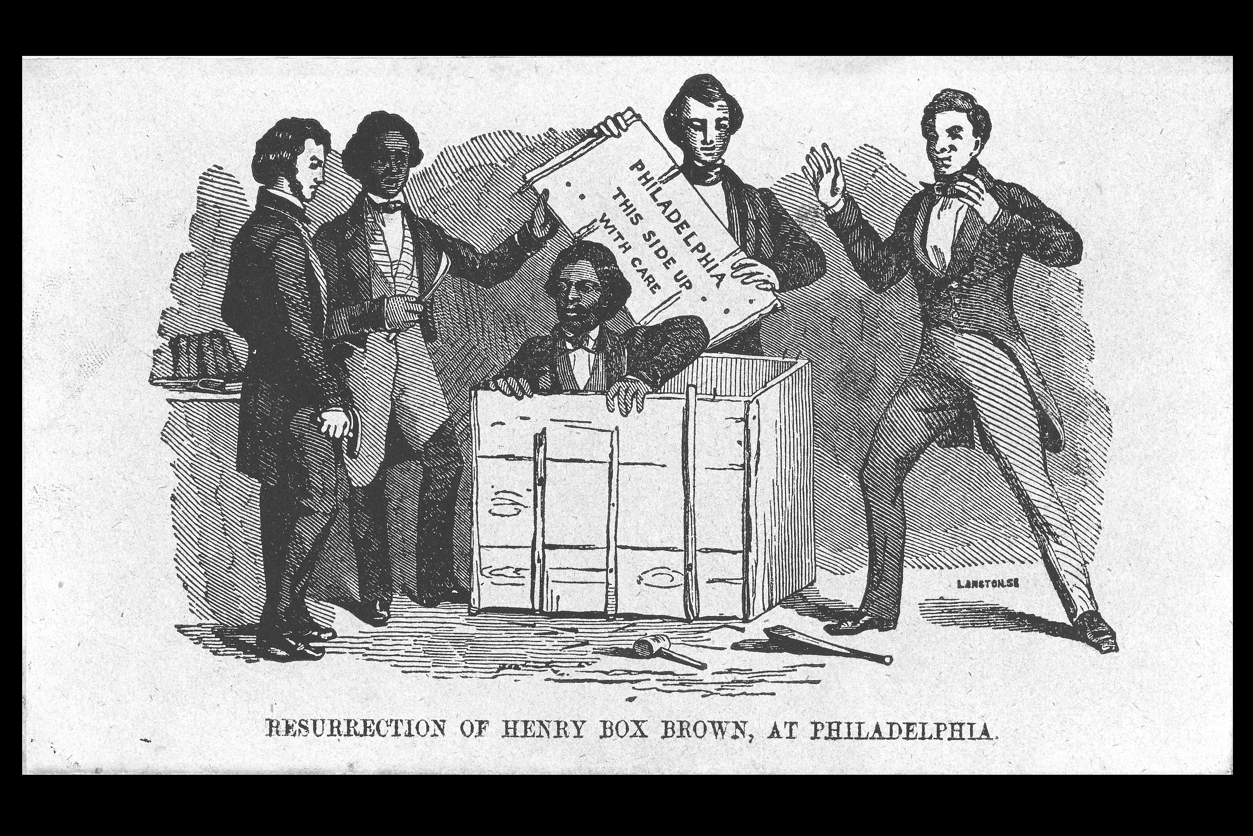 The Slave Who Mailed Himself To Freedom