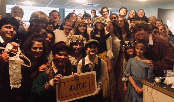 Youth Programming Production of Les Miserables cast (20196)