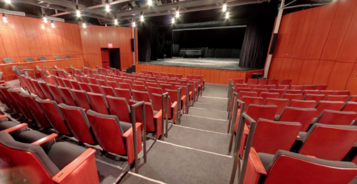 The Hamilton Stage Interior