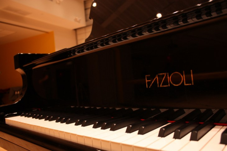 The Fazioli Piano