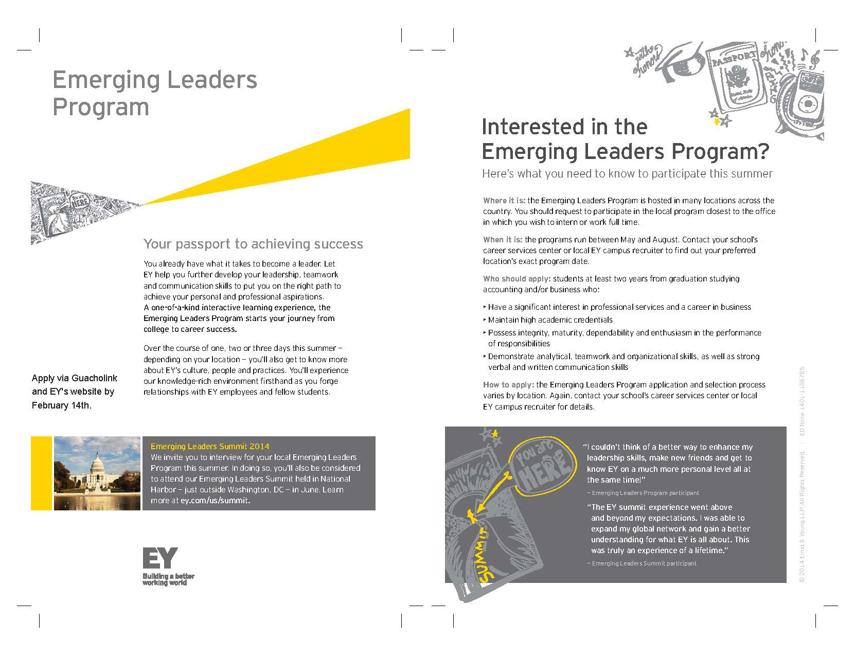 Ey S Emerging Leaders Summer Program