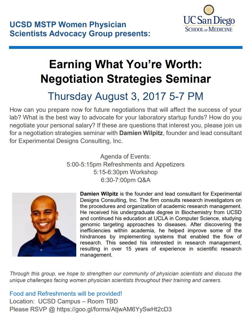 Negotiations Seminar