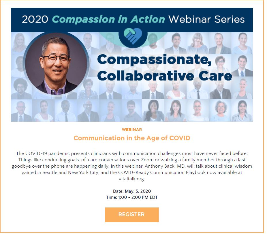 2020 Compassion in Action Webinar Series