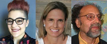 Mariko Cavey, Clarissa Reese and Farrell Ackerman