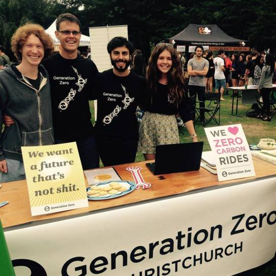 Awesome people of Generation Zero and Kakariki, a couple of the Eco Clubs present at UC Clubs day. #ucsustain #ucnow UC Kakariki Generation Zero