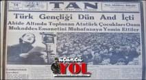 10 kasım 1938 gazete manşetleri (1)