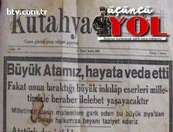 10 kasım 1938 gazete manşetleri (12)