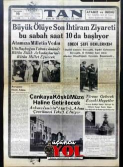 10 kasım 1938 gazete manşetleri (13)
