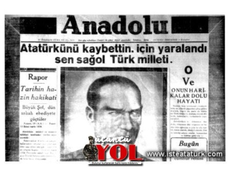 10 kasım 1938 gazete manşetleri (17)