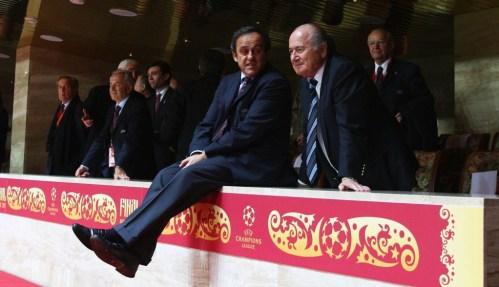 Platini ve Blatter