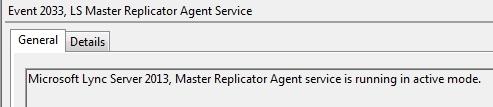 Lync-2013Pool-CMSMasterReplicatorSuccess