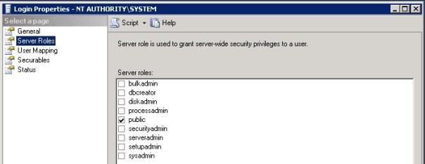 Lync-SQLSYSTEM-ServerRoleRights