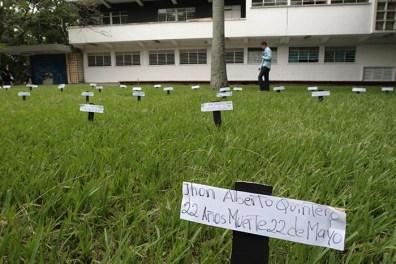 Conmemoración de los fallecidos.